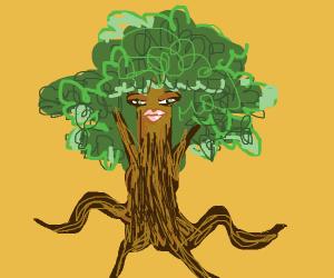 Anthropomorphic Tree Lady