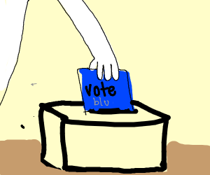 Vote 4 blue BOI