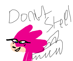 a disgusting furry sonic OC donut steel