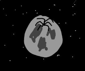 Tarantula on the Moon