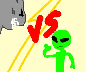 Shark vs alien