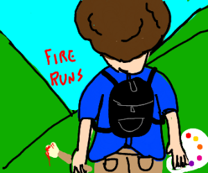 Bob Ross leaves mountains, says fire runs