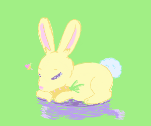 Bunny loves carrots