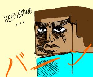 steve from minecraft jojo artstyle