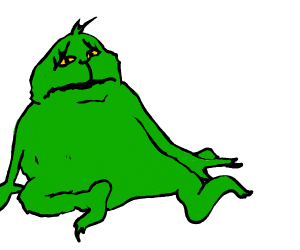 Grinches secret cousin is lonely
