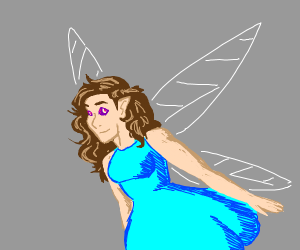 Faerie with crazy eyes