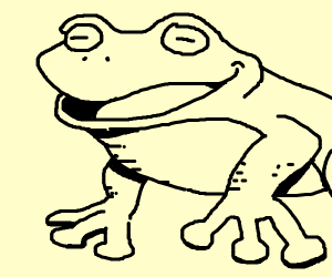 Happy froge