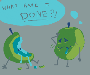 Depressed Canabal Apple