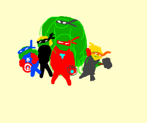 teenage mutant avenger turtles