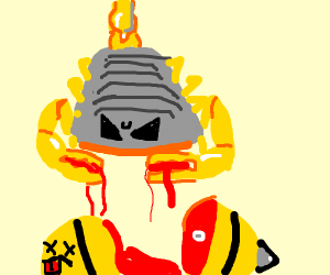 Scorpion has blood on his claws