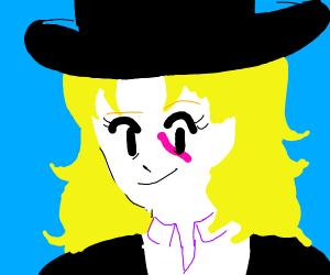 Speedwagon (Jojo) as a female