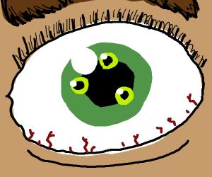 3 eyes in one eye