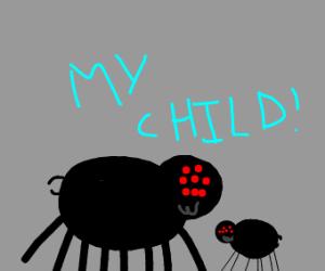 Smol spider child