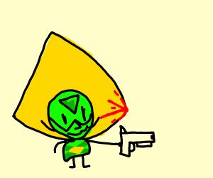 Peridot Found A Gun