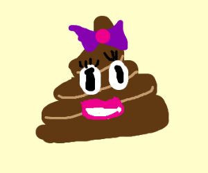 Poop Emoji's Girlfriend