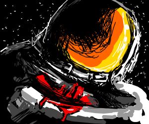 bleeding astronaut