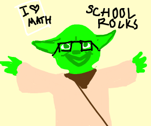 yoda confesses to being a nerd