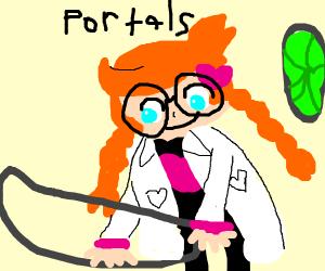Teen scientist makes portals