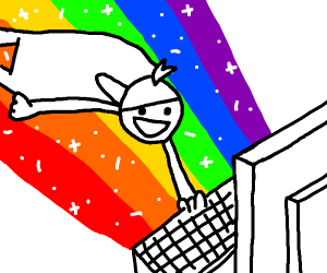 I'm gonna do an internet!