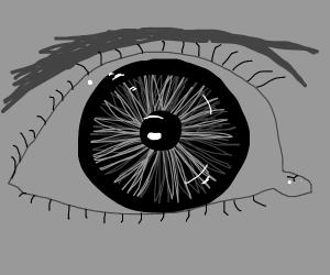 Closeup of eye