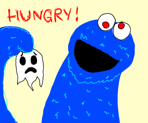 cookie monster wants some souls