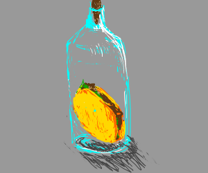 taco in a bottle