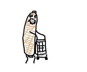 old man sausage