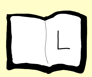 L in a black book