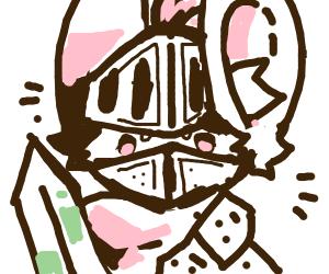 knight bunny