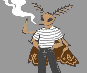 Old School Moth