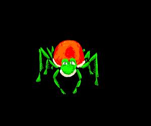 Yoshi as a Spider Person