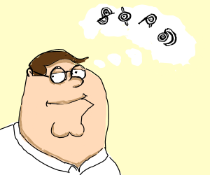 peter griffin thinks about unowns (pokemon)