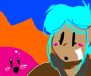 Slime Rancher Beatrix and pink slime