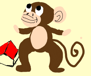 Hugenormous monkey