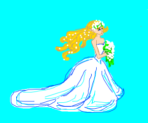 The wedding of Zelda