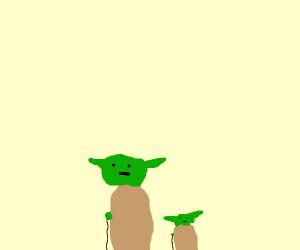Yoda has a child