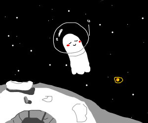 Grave in Space for Melancholy Ghost