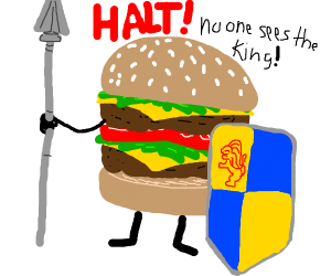 Burger guard