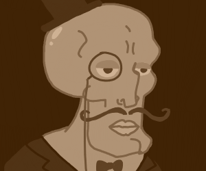 Fancy Squidward