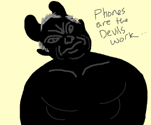 Black satan boomer