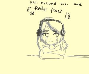 Listening to sad music