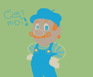 Mario is French