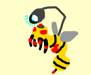 Scary wasp