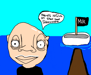 Got Milk? well its on a boat ;)