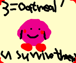 1, 2, oatmeal