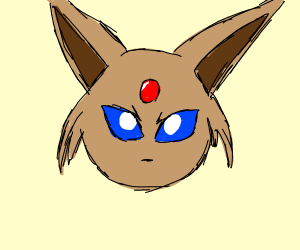 Flesh coulored espeon