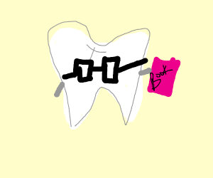 Geeky tooth