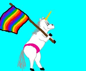 Unicorn lgbt support