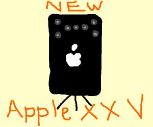 The Apple XXV: has 7 cameras & kickstand!