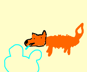 hey im a fox and youre watching disney channe